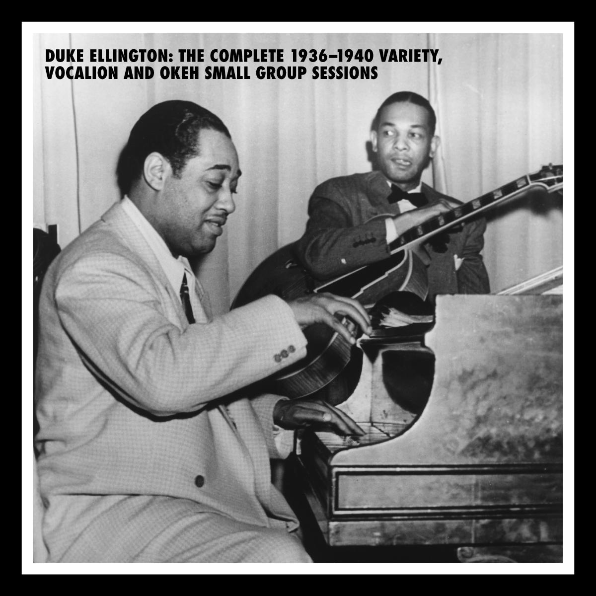 Duke Ellington: The Complete 1936-1940 Variety, Vocaliaon & OKeh Small Group Recordings (7 CDs)
